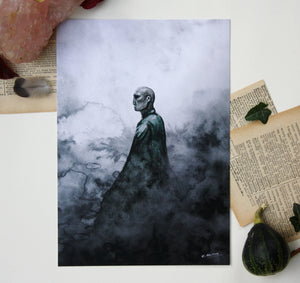 "Illustration format A5 ""Voldemort"""