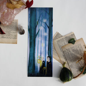 Bookmark Art drawing print, Harry potter Drago malfoy Draco illustration marque page grand format
