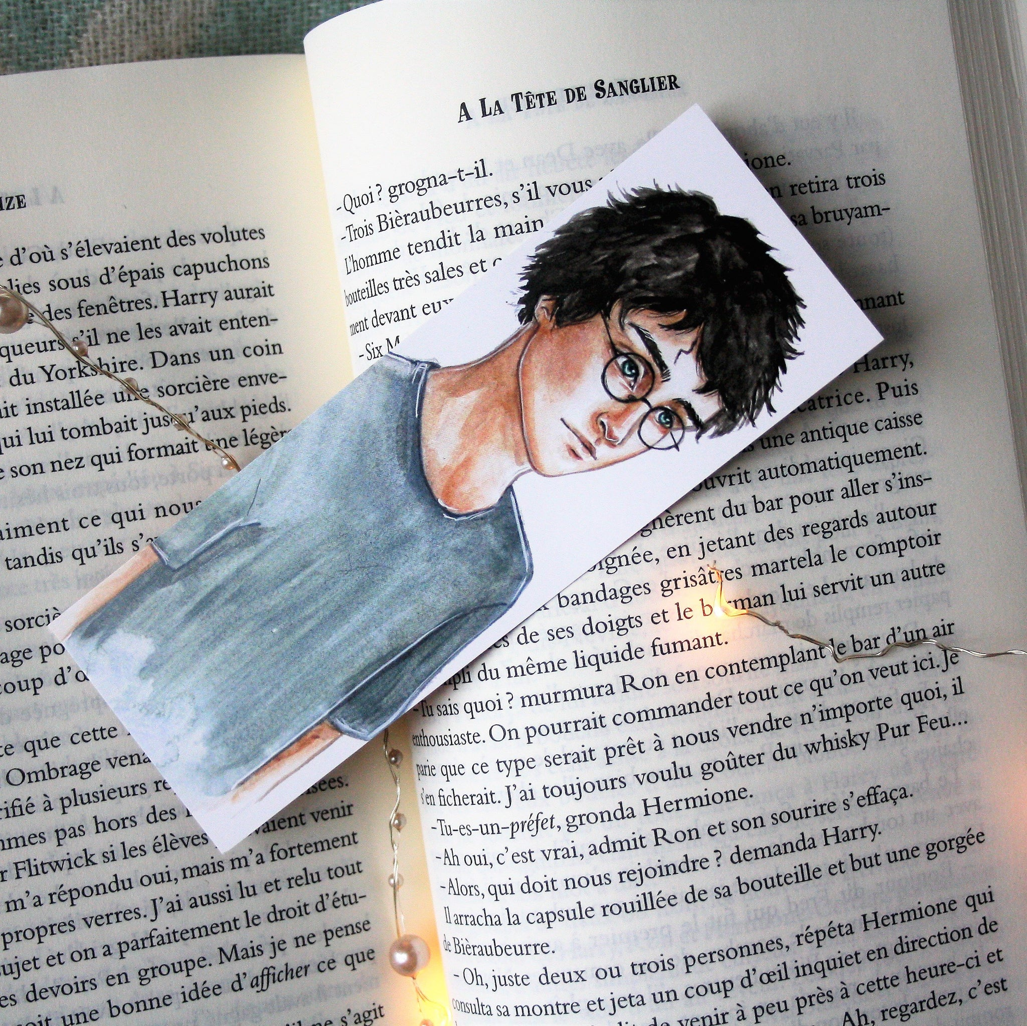 "Marque-page petit format ""Harry"""