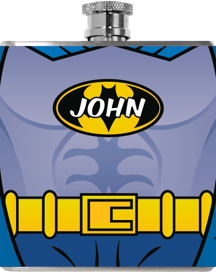 Bat Knight Flask