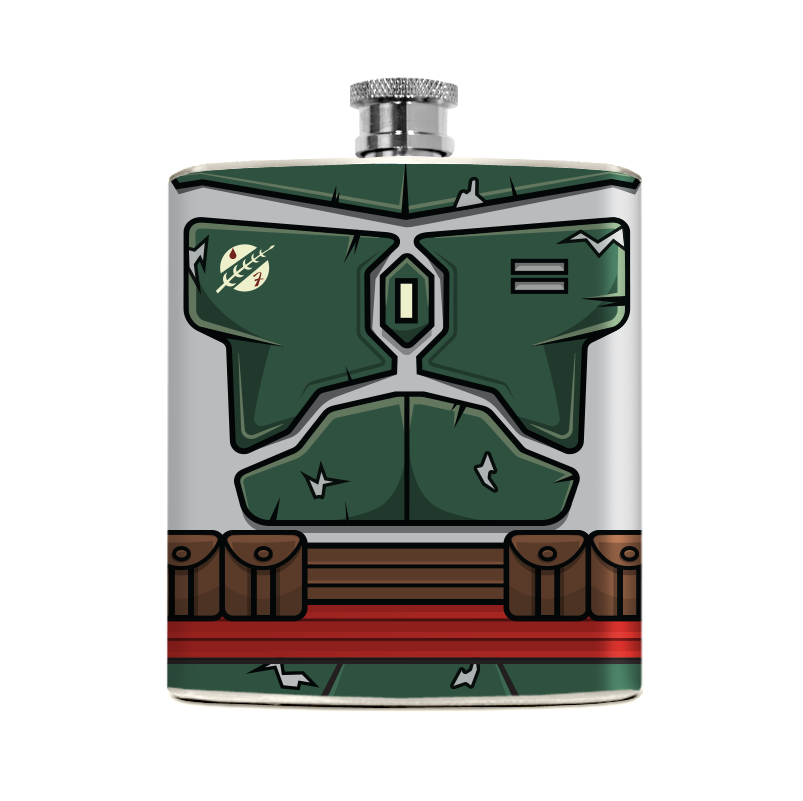 Bounty Hunter Flask