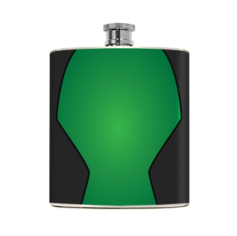 Green Guardian Flask