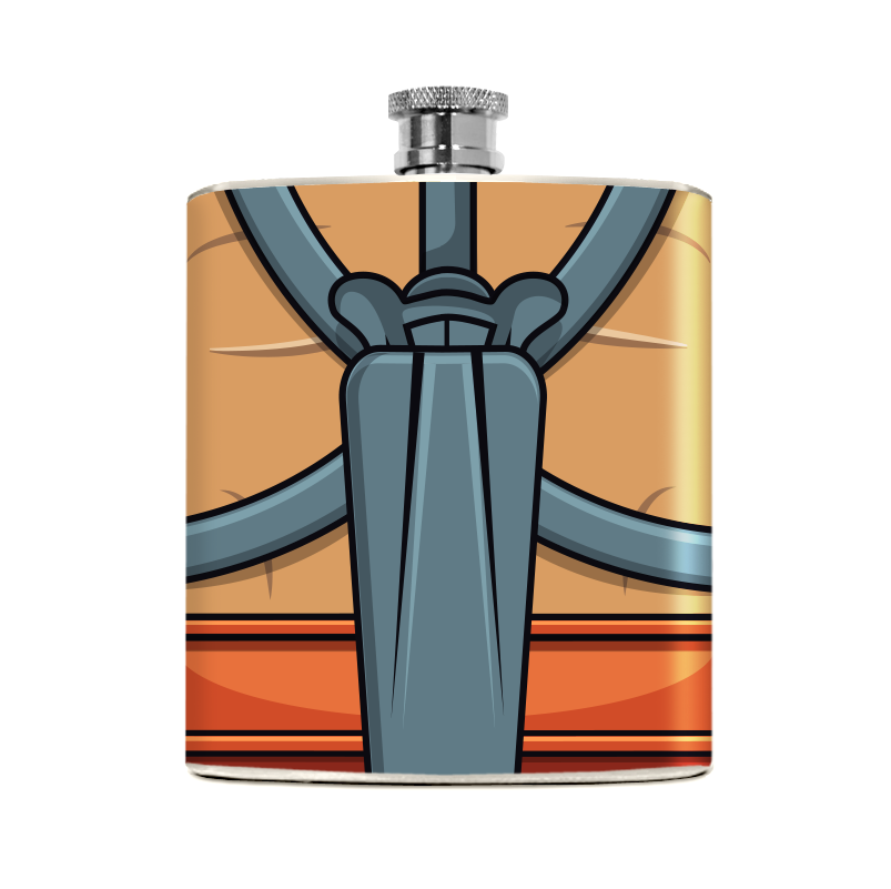 Strong Man Flask