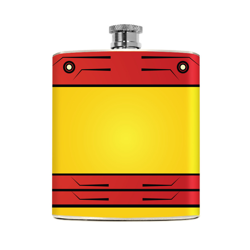 Metal Man Flask