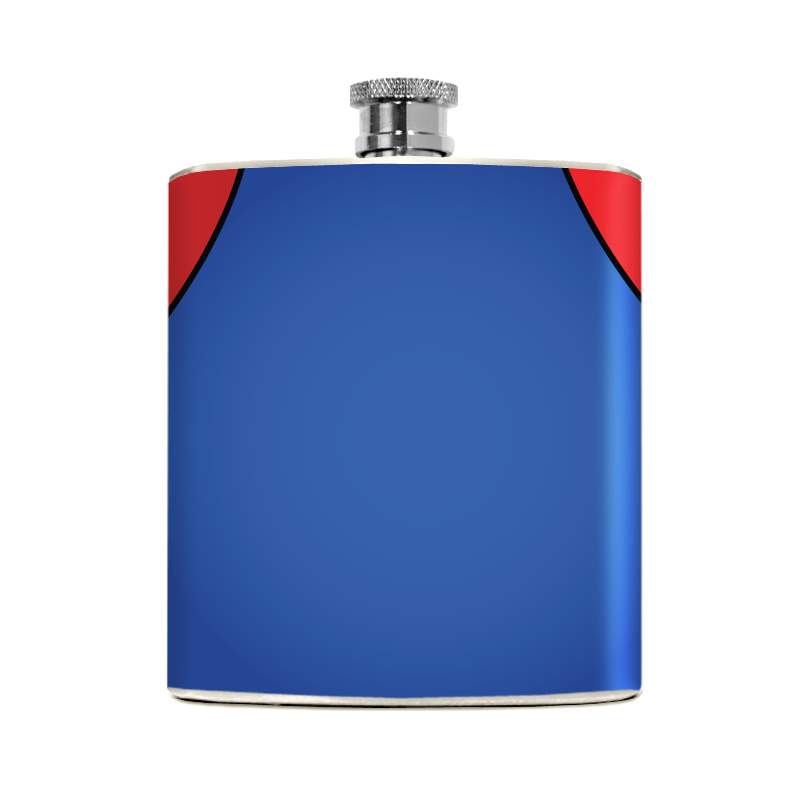 Red Plumber Flask