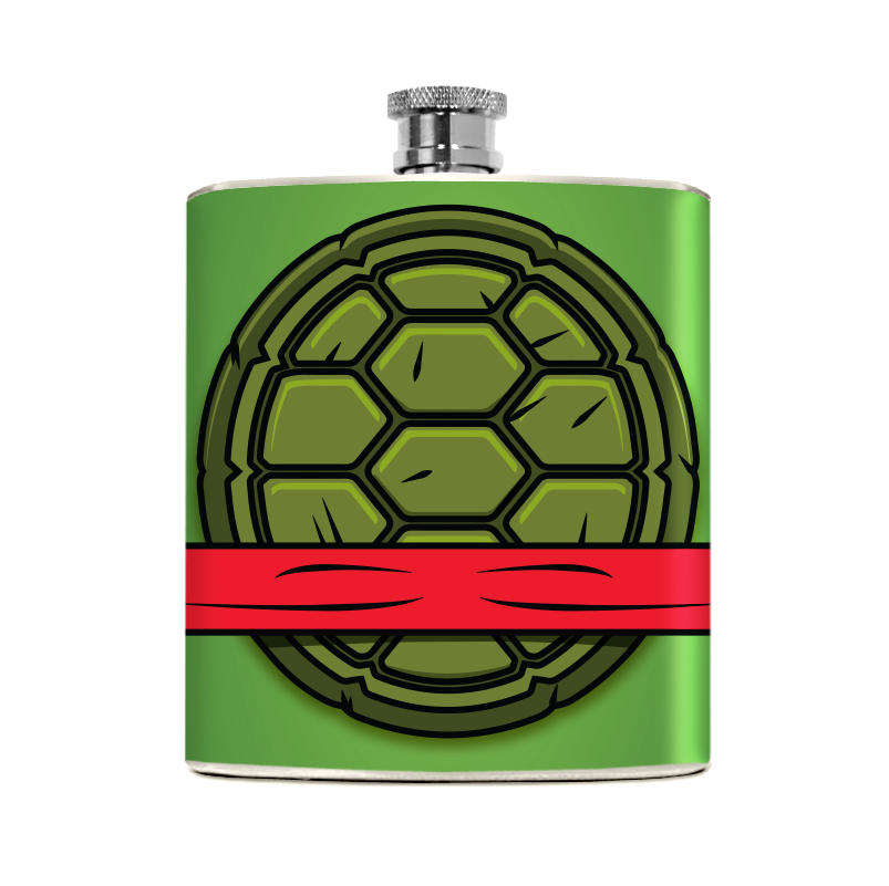 Red Turtle Flask