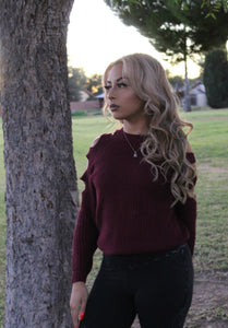Cranberry Sweater top