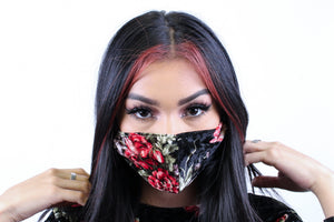 """Rosie"" CO-VIRups fashion masks"