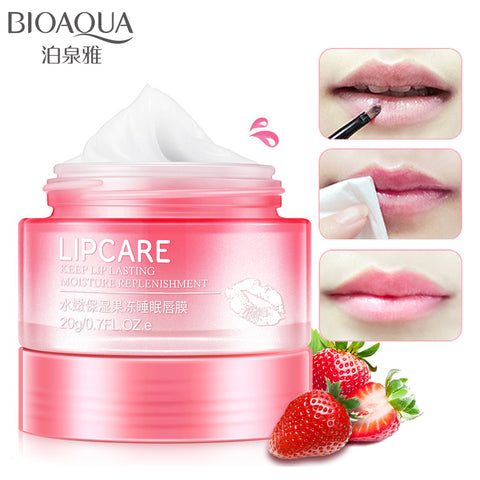 Professional Lips Care Sweet Smell Cute Jelly Mask For Women Keep Lip Lasting Moisturizer Replenishment Lip Sleeping Mask
