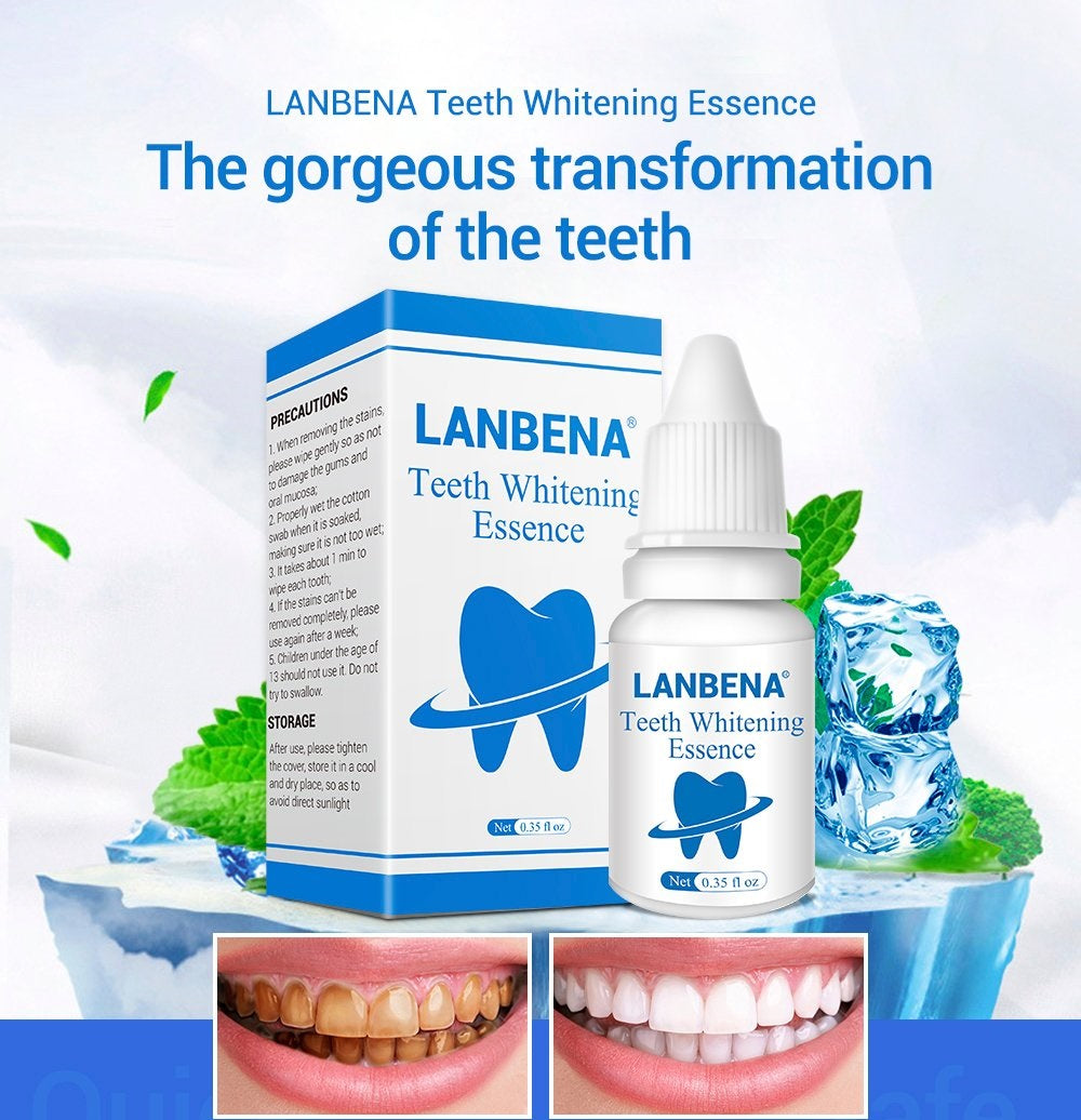 Effective Teeth Whitening Essence Powder Oral Hygiene Cleaning Serum