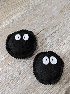 Soot Sprite Cat Toy with Bell