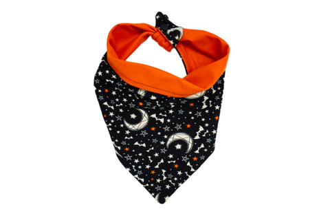 Stars, Moons and Bats Pet Bandana
