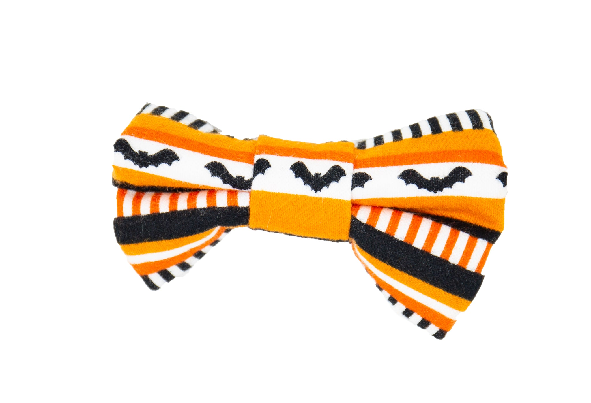 Halloween Stripes Bow Tie