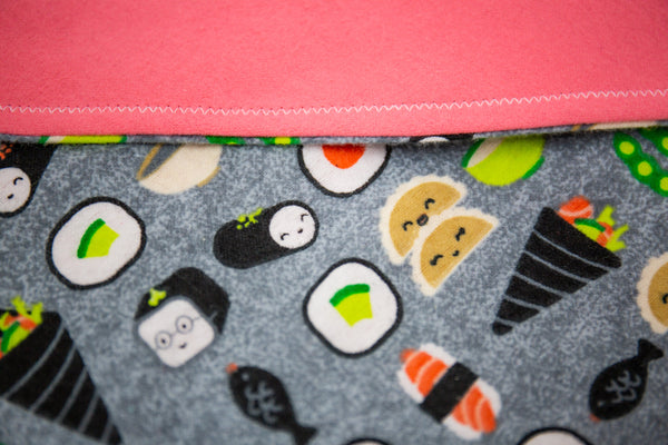 Happy Sushi Pet Bandana