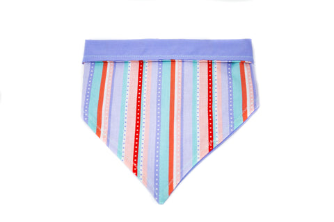 Pastel Stripes Pet Bandana