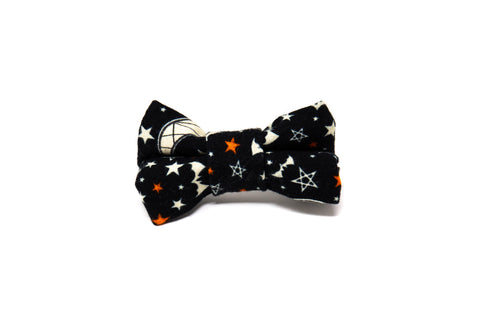 Stars, Moons & Bats Bow Tie -Halloween