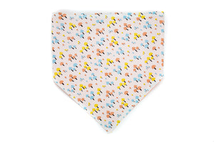 Pastel Mushrooms Pet Bandana