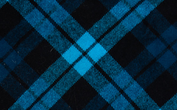 Minnesota- Blue Plaid Pet Bandana