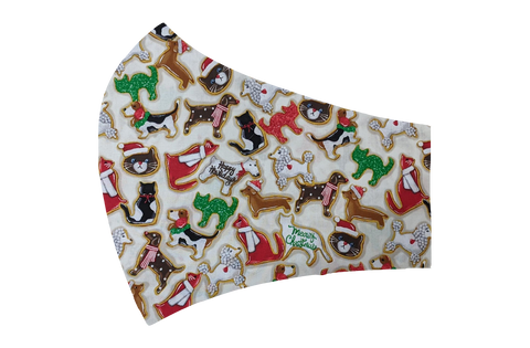 Pet Christmas Cookies Face Mask