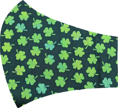 Shamrocks Face Mask