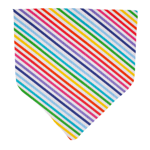 Rainbow Stripes- Pet Bandana