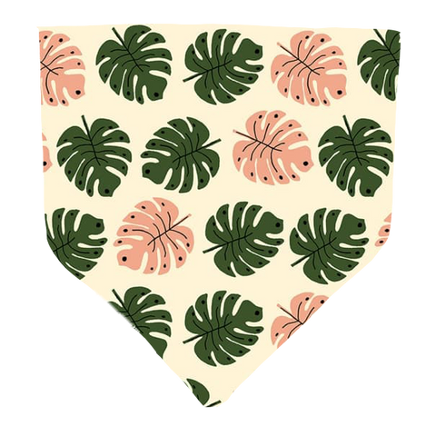 Monstera- Pet Bandana
