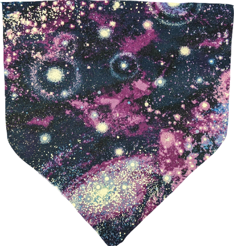 Sparkly Galaxy- Pet Bandana