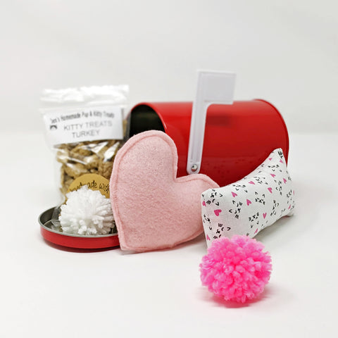 Valentine's Mail Box -Kitty Love, Turkey Treats