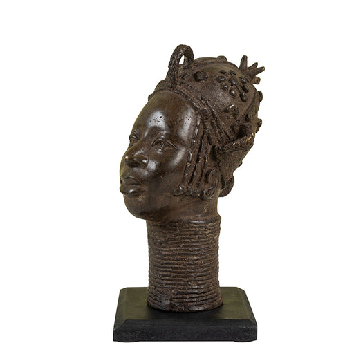 Small Benin Bronze Head