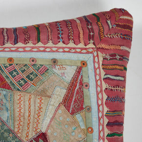 Embroidery Patchwork Floor Cushion