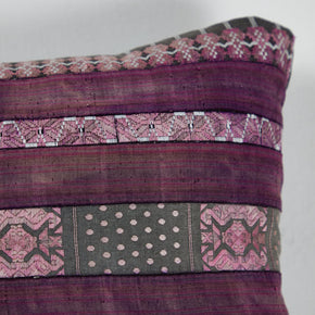 Chinese Hill Tribe Silk Ribbon Pillow