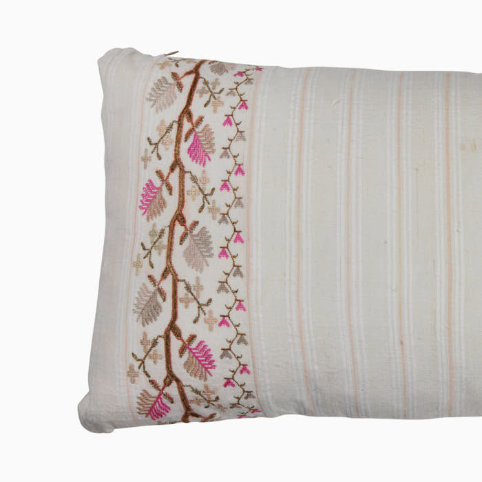 Ottoman Turkish Embroidery Pillow.