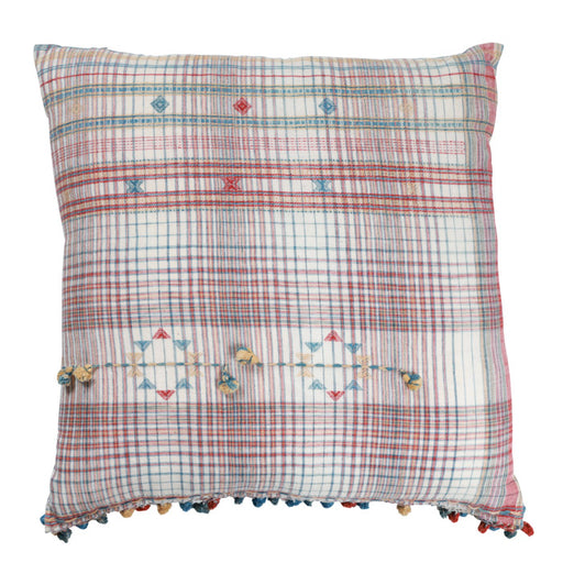 Gujarati Cotton Sari Pillow