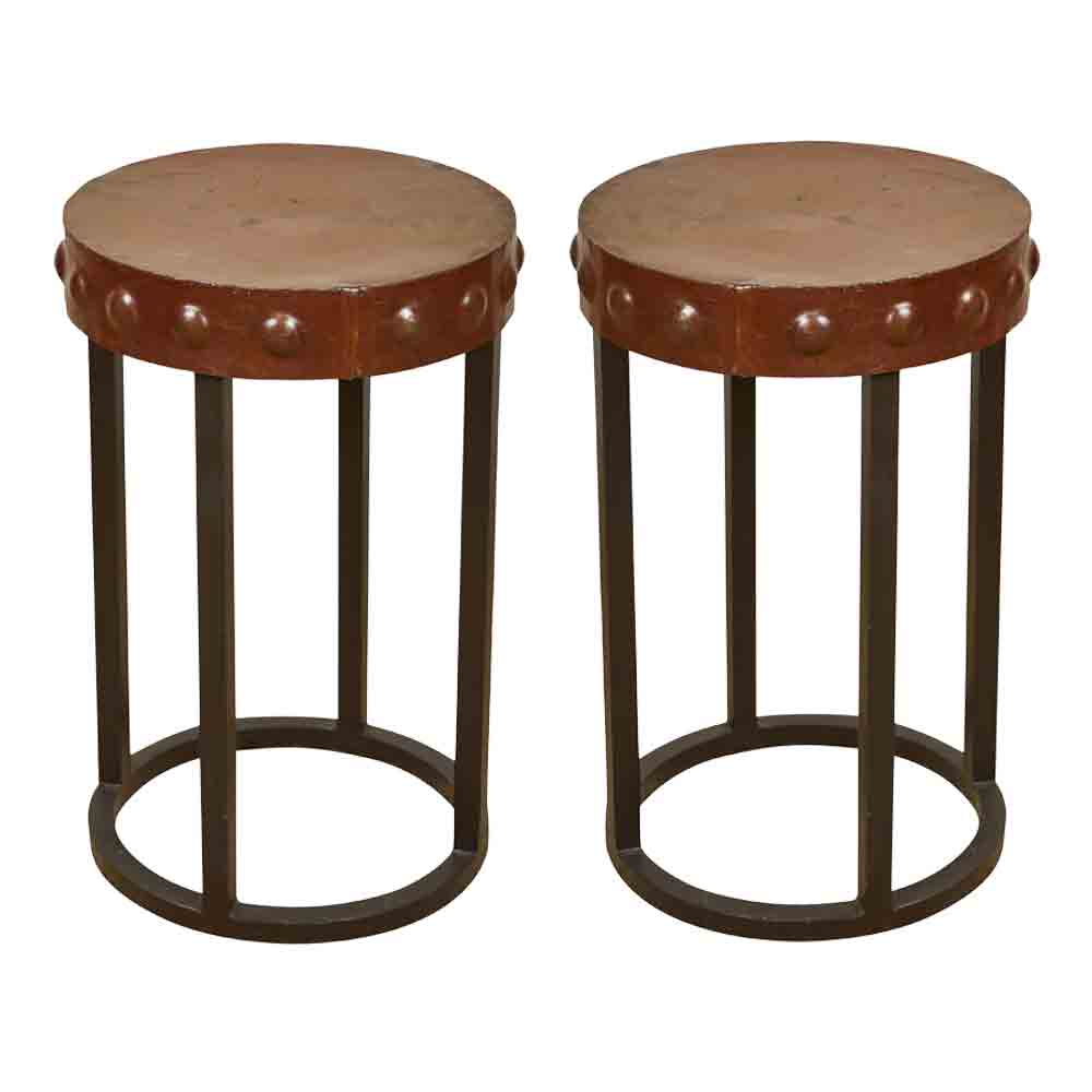 Iron Side Tables