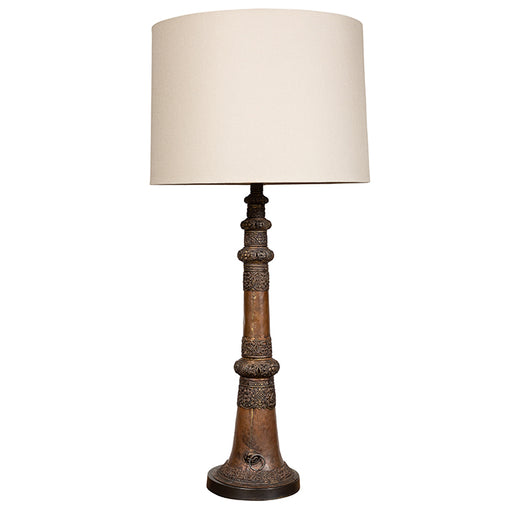 Tibetan Horn Table Lamp
