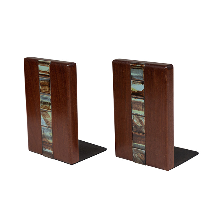 Mid Century Martz Bookends