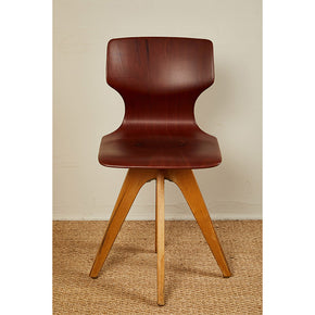 Mid-Century German School Chairs