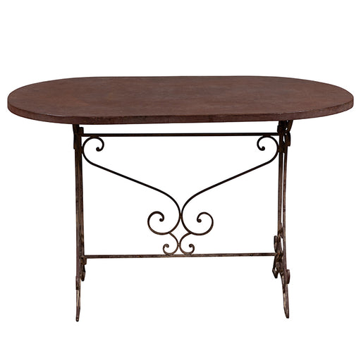 French Metal Folding Table