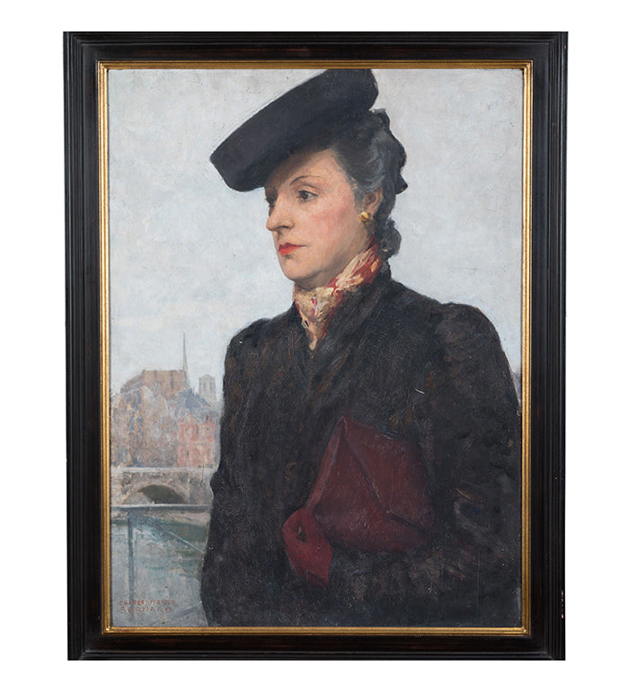 Portrait of a Women by C. P. Bernardo