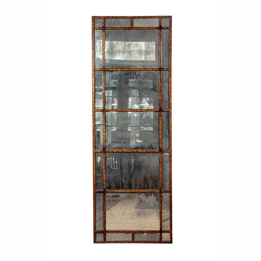 Mid Century Mirrored Panel