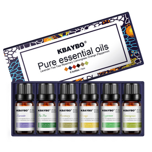 Kbaybo™ Premium Essential Oils (6x10ml)