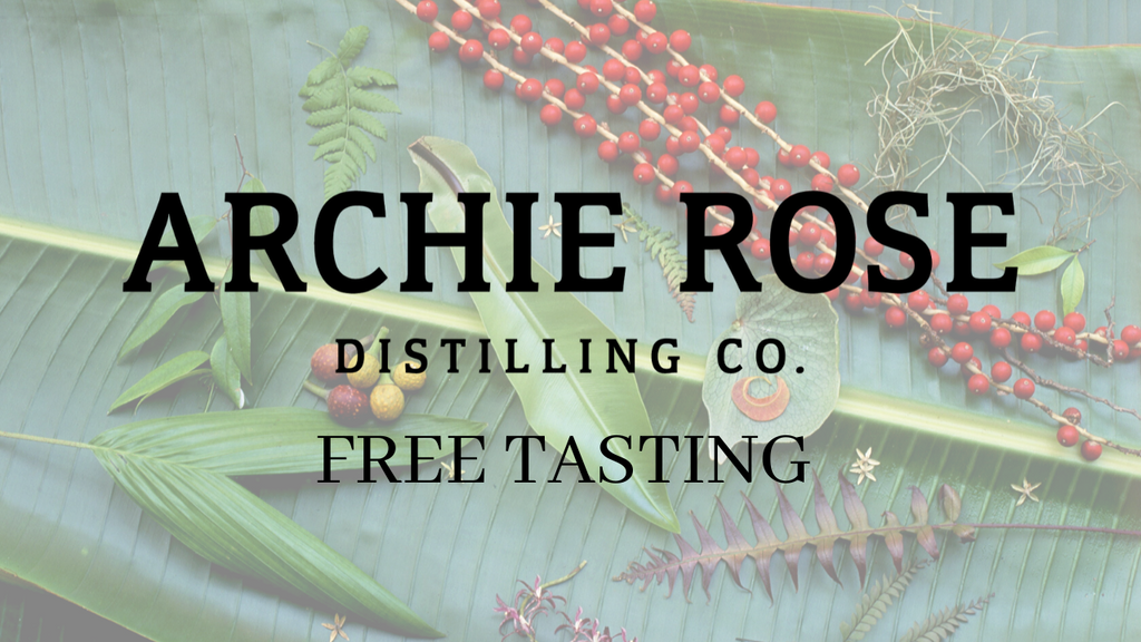 Archie Rose Gin Tasting
