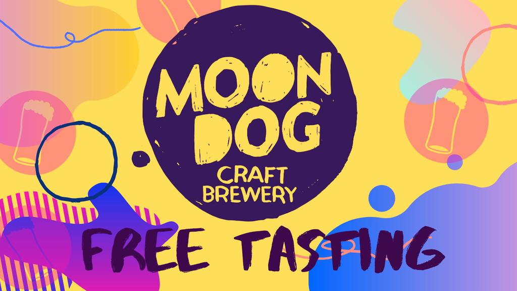 Moon Dog Craft Beer Tasting