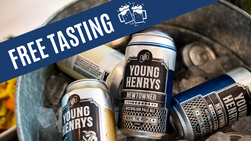 Young Henry's Top Tinnies