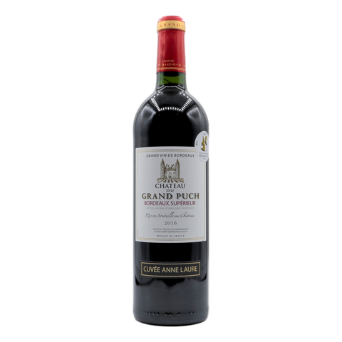 Chateau du Grand Puch Cuvee Anne Laure Bordeaux Superieur - camperdowncellars