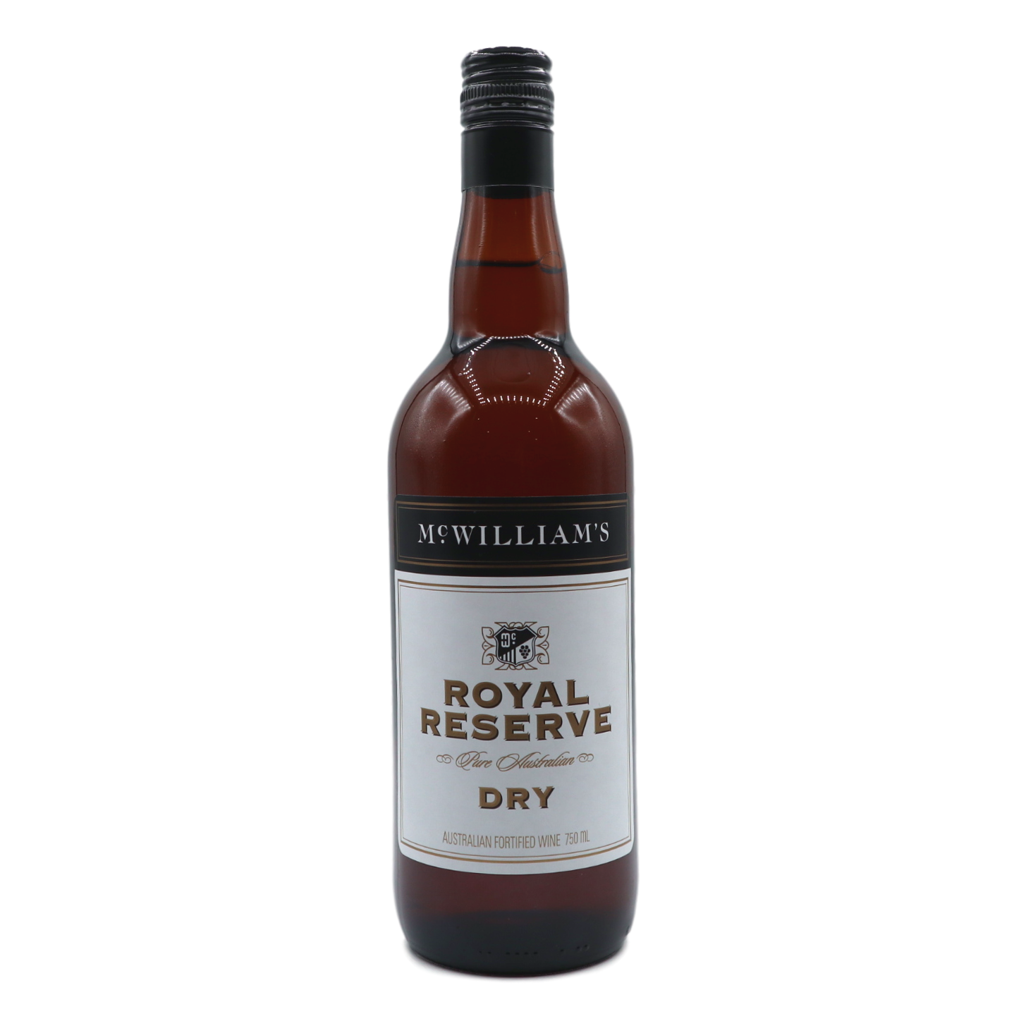 McWilliams Royal Reserve Dry Sherry - camperdowncellars