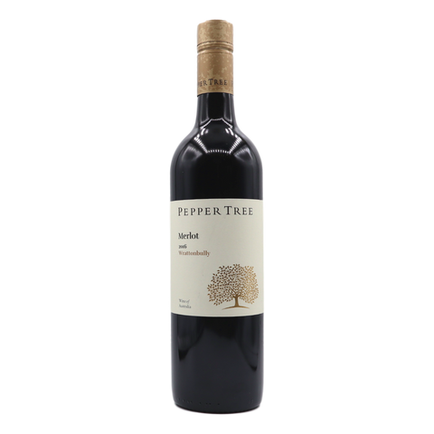 Pepper Tree Wrattonbully Merlot - camperdowncellars