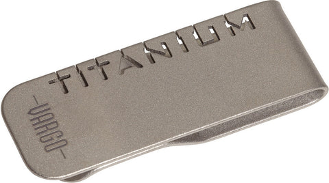 Vargo® Titanium Money Clip