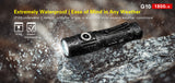 Klarus® G10 1800 Lumen Compact Flashlight