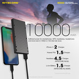 Nitecore® Power Bank 10,000 mAh